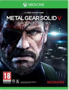 Metal Gear Solid V - Ground Zeroes XB1+PS4 for £17.74 @ Gameseek