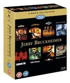Jerry Bruckheimer  BLU-RAY action collection (8 discs) £15.65 at play/linkent