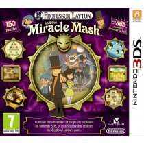 Professor Layton and the Miracle Mask / Batman: Arkham Origins Blackgate (3DS) £7.95 NEW - PAL @ Game Collection