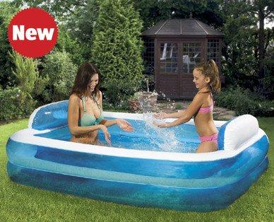 Jumbo paddling pool. £12.99 in store at Aldi