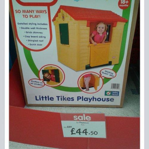 Playhouse instore @ ASDA - £44.50