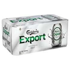 Carlsberg Export Cans 15 x 440ml @ Morrisons - £12