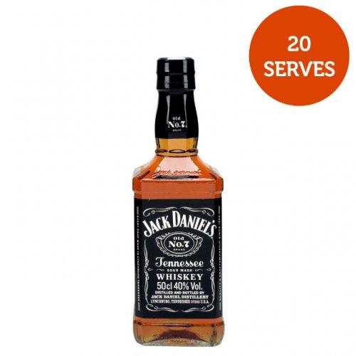 Jack Daniels 50cl £15 @ asda (1 litre is £34)