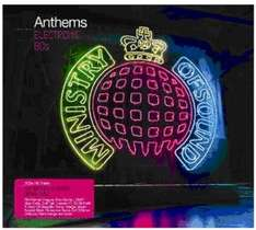 Ministry of Sound Electronic 80's Box Set £5 @ Amazon (free delivery £10 spend/locker/prime)