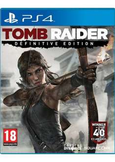 Tomb Raider Definitive Edition (PS4) @ Base - £21.99