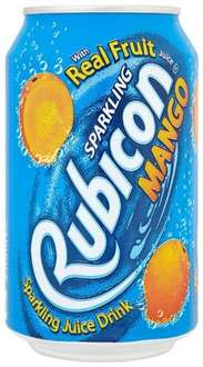Rubicon Mango Sparkling Drink 330 ml (Pack of 24) £8.97 at amazon (Free Delivery with Prime/£10 Spend)