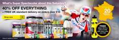 SiS nutrition products - 40% off, free delivery and free bottle @ Science In Sport