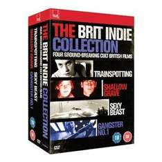 Brit Indie Collection 4 Bluray Set New @ Play.Com - £9.29 (Sold by Sound and Vision)