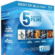 Blu-Ray action starter pack - 5 decent films - £8.10 @ Amazon (Free Delivery with Prime/£10 Spend)