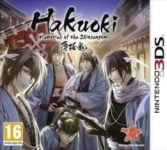 Hakuoki: Memories of the Shinsengumi - Limited Collector's Edition (3DS) for £9.99 @ The Game Collection