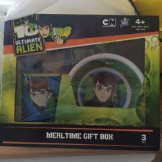 Ben 10 meal time gift box 99p store