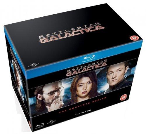 Battlestar Galactica The Complete Series - Blu-ray - £34.99 @ Amazon