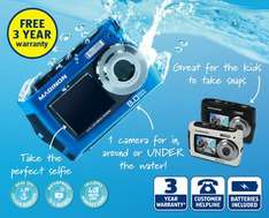 Aldi 8mp waterproof camera £29.99