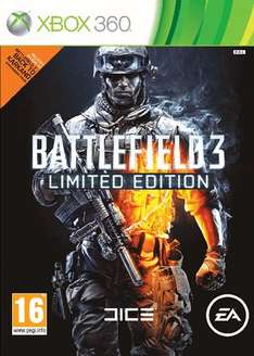 Battlefield 3 Limited Edition on Xbox 360 Preowned only £3 @Game