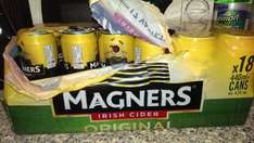 ***Bbq must have - 18 cans 440ml for £12 Magners original cider at Bargain Booze***