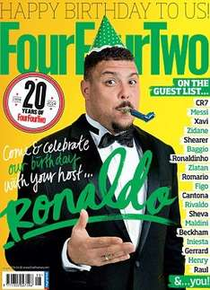 FourFourTwo 12 month subscription £20.00 @ TheMagazineShop