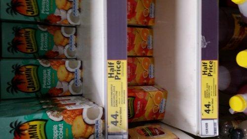Jammin juice 1ltr half price 44p @ tesco
