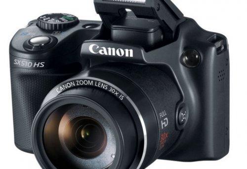 Canon PowerShot SX510 12MP Bridge Camera - Black. £139.99 @ Argos
