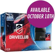 Playstation 4 with DriveClub Bundle, Pre-order £384.99 @ Game