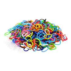 1800 Colourful Loom Bands & 75 Clips! £1.39 delivered @ GreatDeals4you Amazon