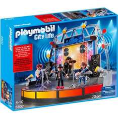 Playmobil Rock Stage and Band - £39.99 @ Argos