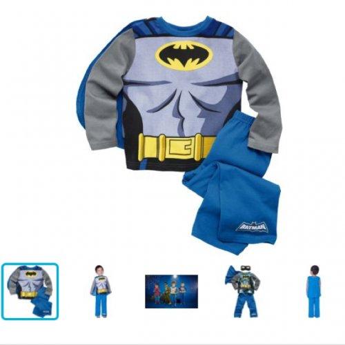 Batman Boys Pyjamas 2-3 Years 99p @ Argos