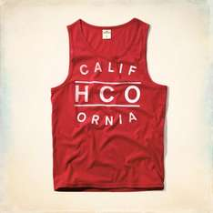Hollister Tank Tops - £7.49 Delivered - With Code