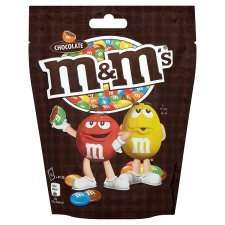 Various chocolate pouches (eg Maltesers, M&Ms) - all £1.00 each @ Tesco - buy 4 packs and get a free cinema ticket too