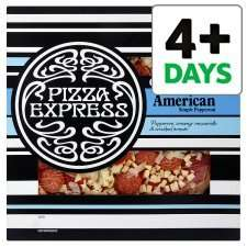 """Pizza Express 12"""" Margherita or American Pizza was £6, reduced to £2.85 @ Tesco"""