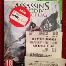 Assassin Creed 4 Black Flag. £8.50 in ASDA in store