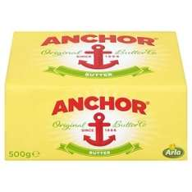 Anchor Butter 500g (big block) £2 @ Asda