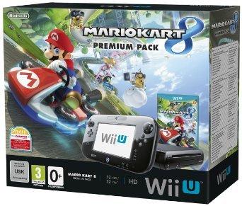 Wii U Premium Bundle Mario Kart + free download at Amazon for £239.86