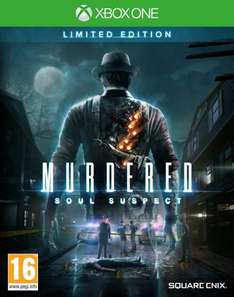 Xbox one/ PS4 MURDERED SOUL SUSPECT LIMITED EDITION £26.86 + free delivery  @ Amazon.co.uk