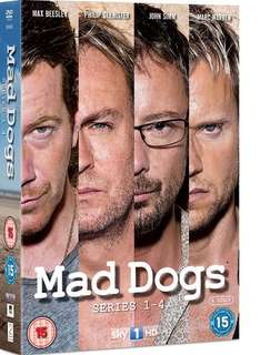 Mad Dogs series 1-4 DVD Boxset (4 discs) £14.99 delivered @ Play.com/BBC Shop