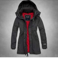 Abercrombie & Fitch weather warrior parka £64 @ Abercrombie & Fitch