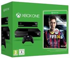 Xbox one with kinect and fifa 14 £360.42 @ Gameseek