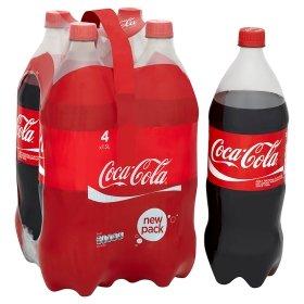 Coca Cola Original (Or Diet) 1.5L 4 pack offer 3 for 10 @ASDA