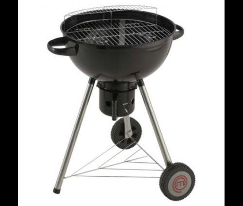 Master Chef 57cm Kettle BBQ + Warming Rack & Ash Catcher £22.50 @ Tesco