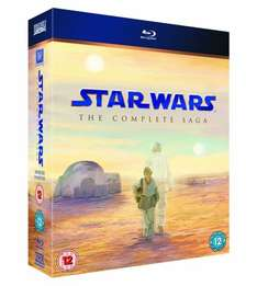 Star Wars: The Complete Saga [Blu-ray] [1977] ,£39.99 delivered from hmv ireland