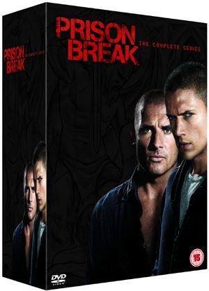 Prison Break: Complete Seasons 1-4  DVD -  £14.99 / Blu-ray - £29.99 @ HMV Ireland (Free UK Delivery)