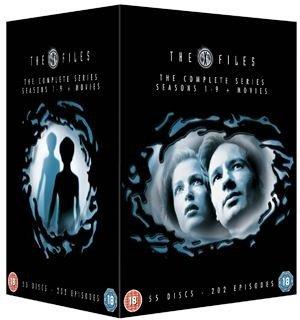 The X Files Season 1-9 (DVD) plus movies £29.99 HMV.ie