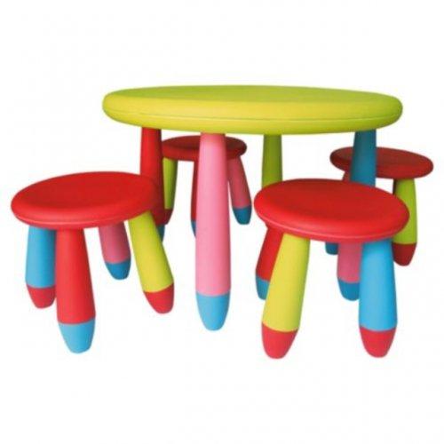 Kiddies plastic table and stools £10.50 @ Tesco
