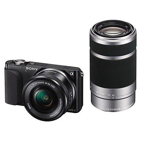 Sony NEX 3N + 16-50mm PowerZoom & 55-210mm Lenses - £279 @ ABC Digital Cameras