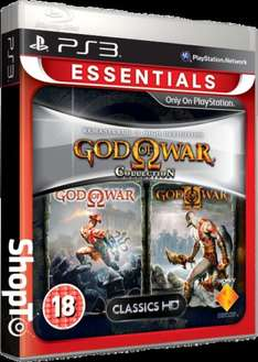 God of War Collection Essentials PS3 - £7.85 @ shopto
