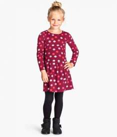 Girls jersey dresses  £2.99 @ H&M online only