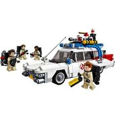 Lego Ghostbusters (21108) + Lego Geoffrey the Giraffe (40077) £39.99 delivered @ Toys R Us + 5% Quidco