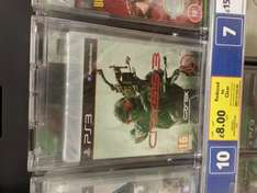 Crysis 3 ps3 and xbox 360 £8.00 @ Tesco instore