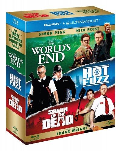 The Three Flavours Cornetto Trilogy [Blu-ray + UV copy] - £13 at amazon
