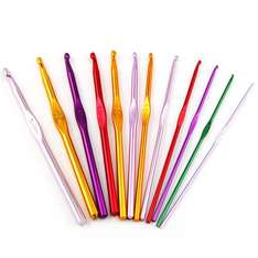 Crochet hooks, Ideal and sturdy for loom band use £2.99 @ eBay / seller-vision