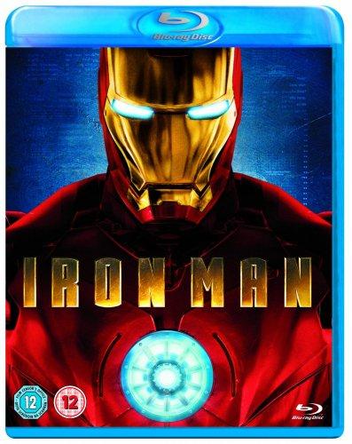 Iron Man [Blu-ray] [Region Free] @ amazon £9.75 (Free delivery with prime / £10 spend / Locker))